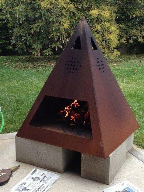backyard chiminea 40 backyard fire pit ideas diy pinterest chiminea