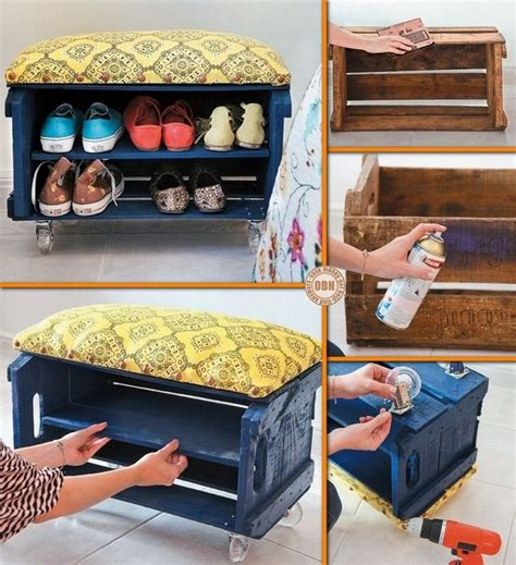 kids shoe bench 17 best ideas about crate coffee tables on pinterest