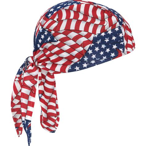 benefits of wearing a do rag product ergodyne stars and stripes dew rag model 6615