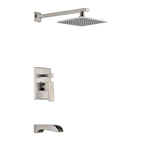 bathtub faucet and shower head rain shower and tub faucet set