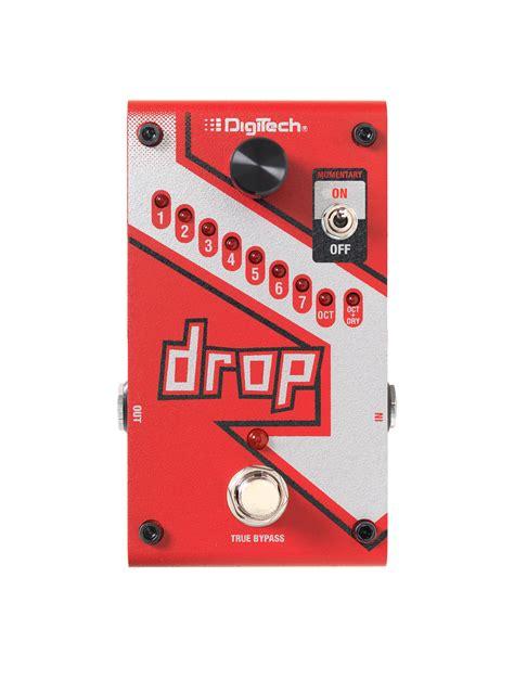 the drop the drop digitech guitar effects
