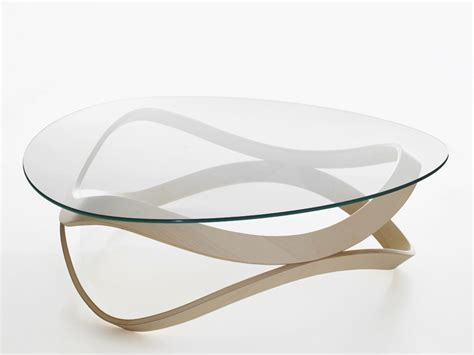 table basse ronde en verre newton by karl andersson design