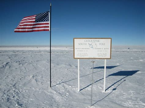 The Pole by Robot Explorers The South Pole