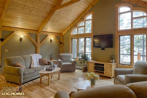 luxury log home interiors luxury log home hybrid log home golden eagle log homes log home cabin pictures photos