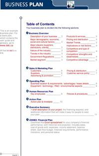 business plan outline examples