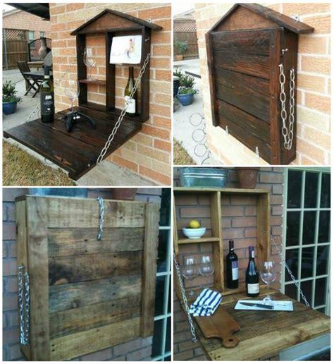 Shed Layout Plans diy custom pallet patio bar usefuldiy com