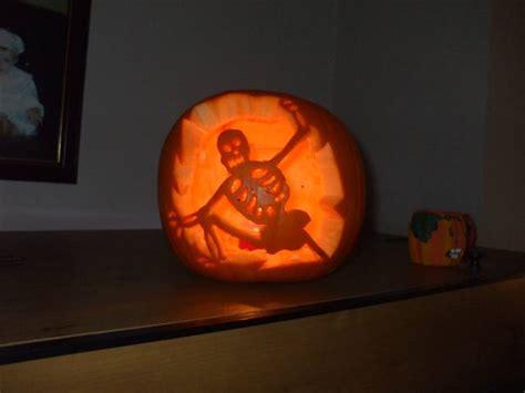 skull pumpkin carving ideas
