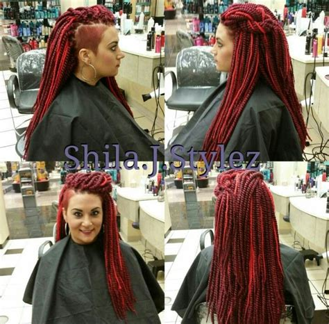side shaved with senegalese twist 75 best images about hair 4 me on pinterest senegalese
