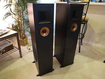 klipsch rp  main stereo speakers speakers change