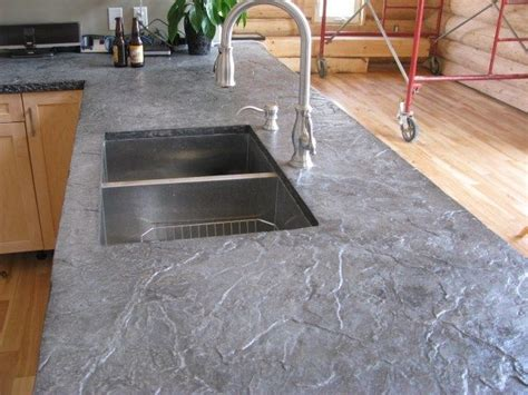slate bar top roman slate texture concrete countertops after being hard