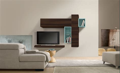 rimini modern wall unit