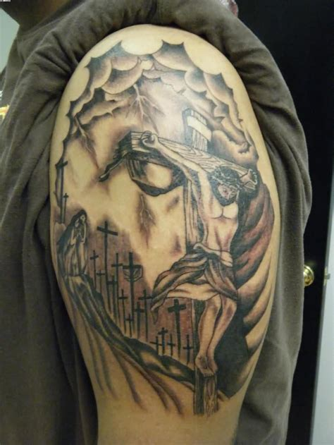jesus tattoo on cross cross jesus collection