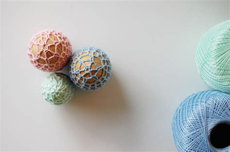 crochet wooden easter eggs free pattern think crafts