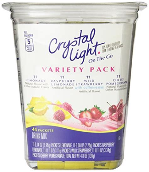 crystal light drink mix flavor my water shopswell
