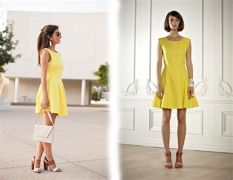 Dress Model Style Impor Yellow Purple Pink yellow dresses what to wear with yellow dress ladylife