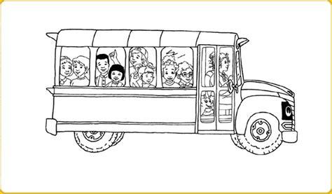 school bus coloring page to print the magic school bus printable liz peeking scholastic com