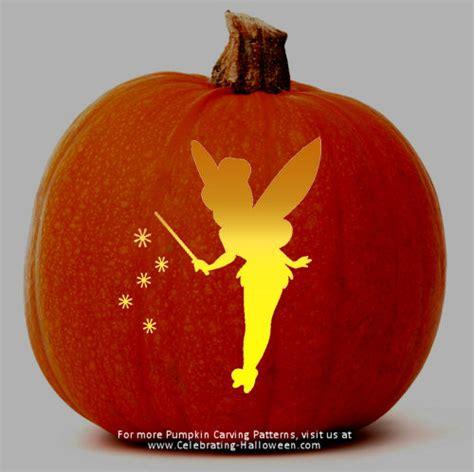 tinkerbell pumpkin template free tinkerbell stencil free pumpkin carving stencil