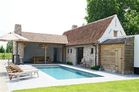 pool house challenge pool houses house and pool house rustiek poolhouse project zwembadbouwer van het jaar 2013