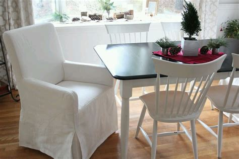 dining room chair covers with arms furniture dining room