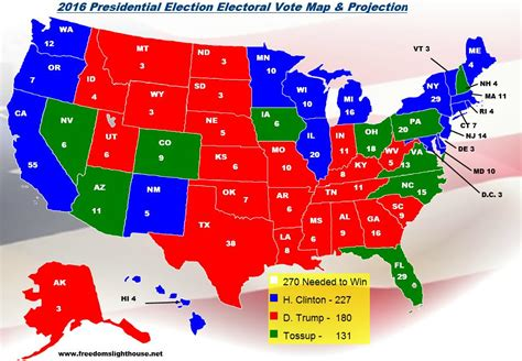is california a swing state 2016 electoral college map projections for the