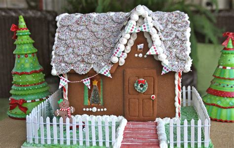 how to make build a gingerbread house with photos recipe