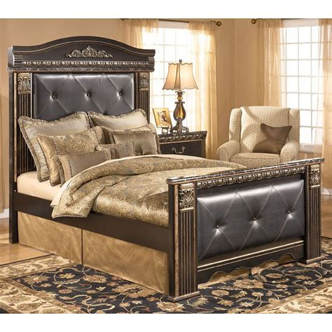 mansion bed coal creek mansion bed signature design by ashley furniture furniturepick