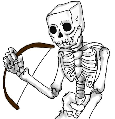 minecraft coloring pages mutant skeleton minecraft skeleton coloring pages www imgkid com the