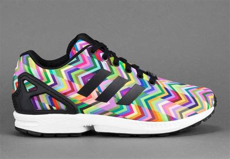 adidas zx flux floral pattern adidas zx flux floral rainbow softwaretutor co uk