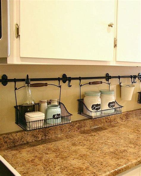 storage friendly organization ideas for your kitchen