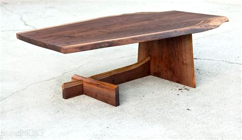 Cantilever Coffee Table Made Live Edge Cantilever Coffee Table By Brandmojo Interiors Llc Custommade