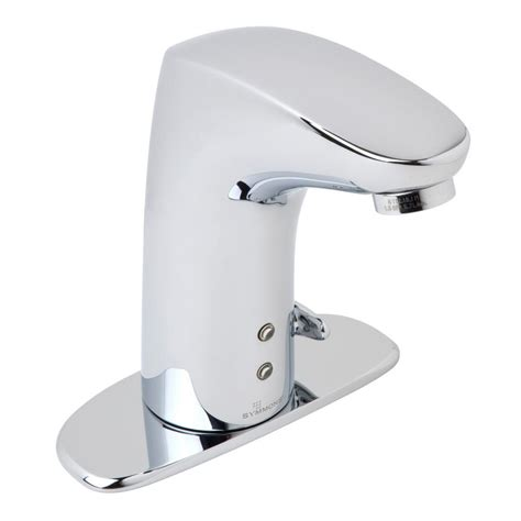 Touch Sensitive Kitchen Faucet Symmons Ultra Sense Battery Powered Single Hole Touchless