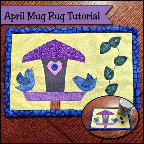 mug rug tutorial april mug rug tutorial allfreesewing