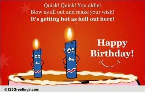 funny birthday candles  funny birthday wishes ecards