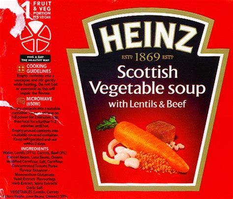 heinz label template a souper way to go angie muldowney