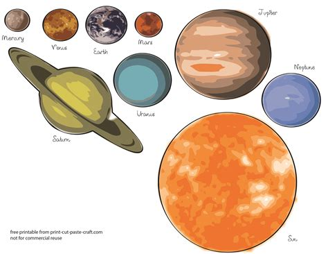 printable solar system templates page 2 pics about space