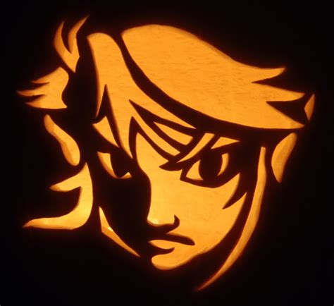 zelda pumpkin pattern these zelda jack o lanterns are literally glowing with
