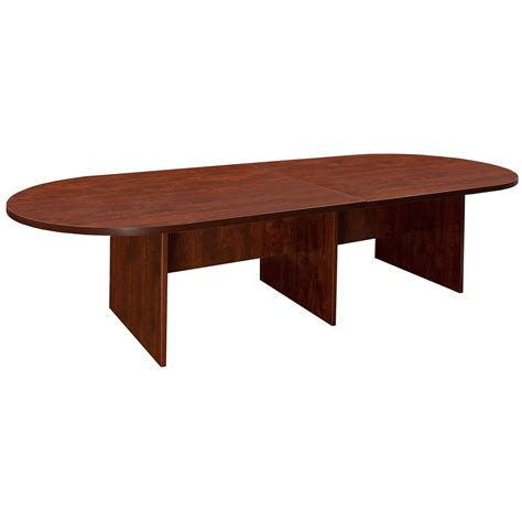 National Conference Table Everyday 10 Foot Laminate Racetrack Conference Table Cherry National Office Interiors And