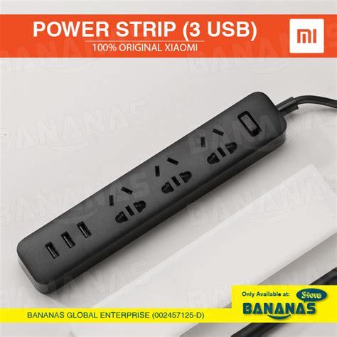 Charger Fast Charging Original 100 Xiaomi 100 xiaomi original mi power with 3 usb 2a fast charging extension home socket logon