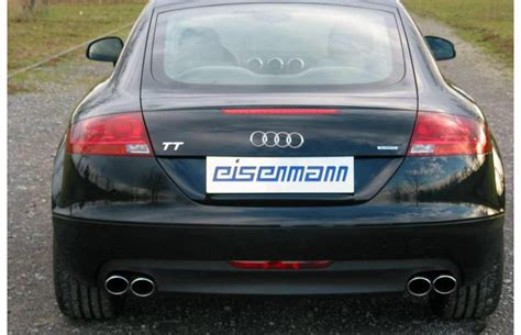 Audi Tt 8j Sportauspuff by Eisenmann Duplex Sportauspuff Audi Tt 8j Coupe Roadster