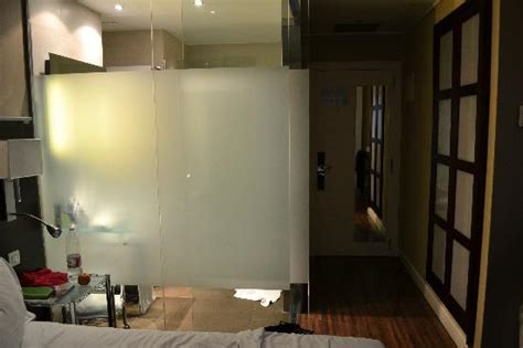 Glass Walls Bathroom Interior Glass Walls In Bathroom Picture Of Ac Hotel Irla By