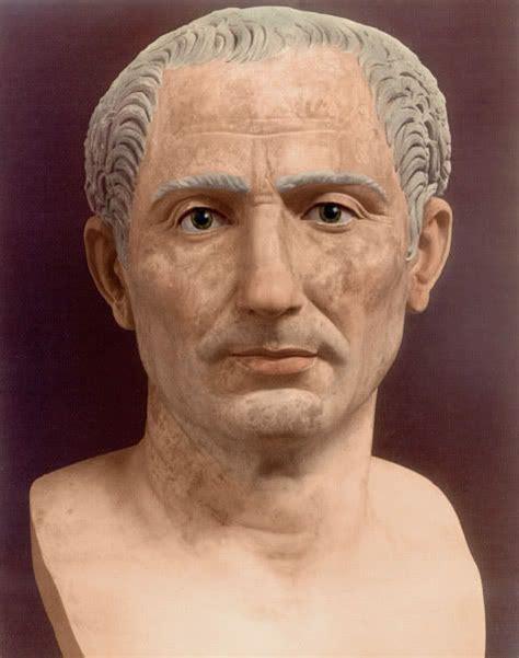 Julius Original colorized bust of julius caesar masks masks reconstructions