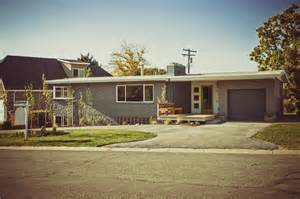 mid century ranch homes 1000 images about rambler on pinterest mid century ranch grey exterior and for sale