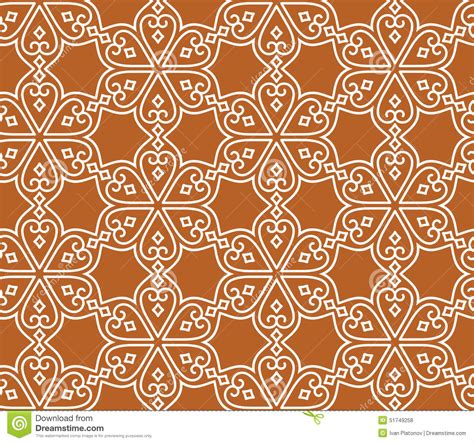seamless pattern indian indian seamless abstract pattern stock vector image