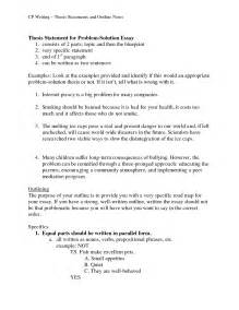 problem solution outline template format of a thesis durdgereport886 web fc2