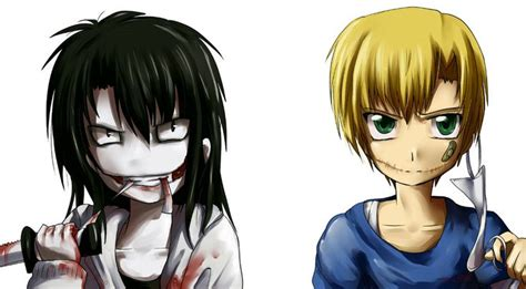 anime wallpaper yunying liu request jeff the killer and liu by okamewing deviantart