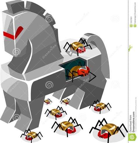 format factory virus trojan threat of trojan virus stock illustration illustration of