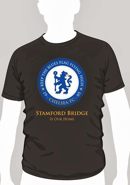 Kaos Sablon Chelsea jual kaos bola chelsea ktbffh murah keren