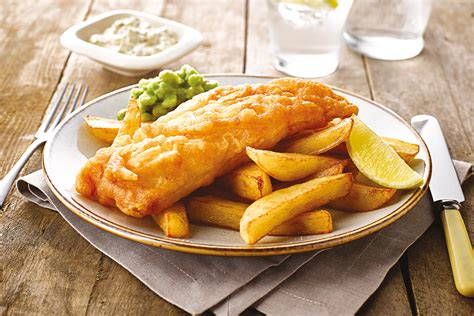 fish and chips battered fish and chips crisp n rapeseed