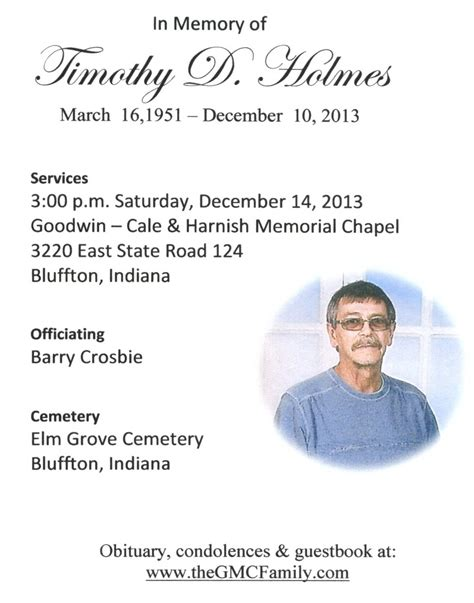 acgsi allen county funeral card collection