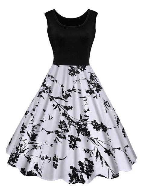 Shoes Manik Tengkorak Navy 31 37 black xl floral print midi vintage summer skater dress